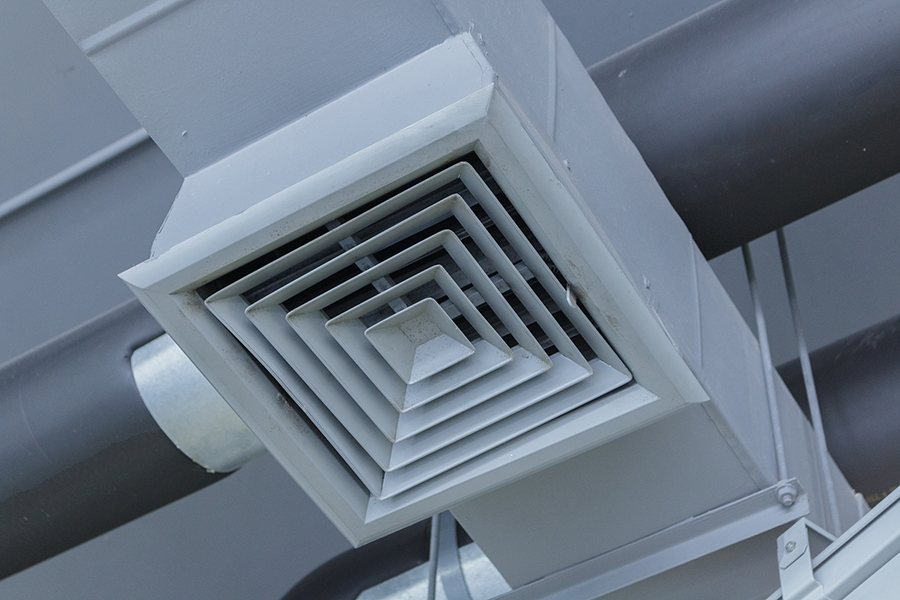 central air conditioner in Mendon, IL